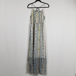 American Eagle Floral Pattern Maxi Dress Size S